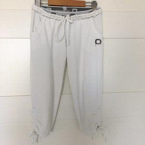 3/$25 Only White Capri Jogger Pants Size Small